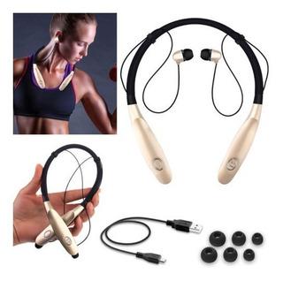 Nc106 Oro Banda Para El Cuello Estéreo Bluetooth Headset