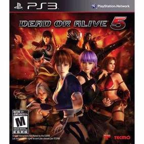 Dead Or Alive 5 Playstation 3 Brinde Outro Jogo