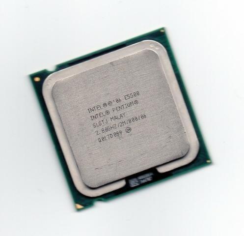 Processador Intel E5500 2.80ghz/2m/800/06 Socket 775