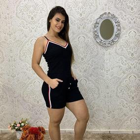 Conjunto Ribano Shorts E Cropped Lançamento 2018