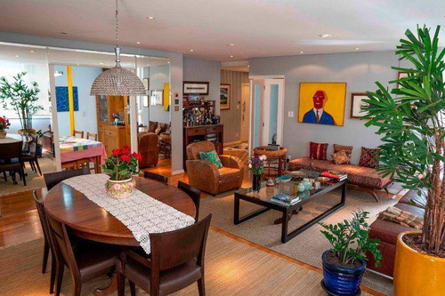 Apartamento Com 3 Dormitórios À Venda, 198 M² Por R$ 2.100.000,00 - Higienópolis - São Paulo/sp - Ap46947