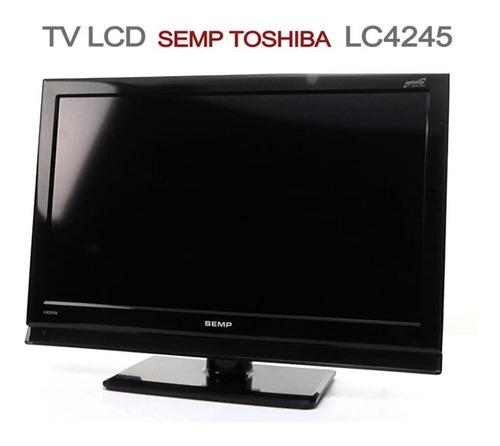 Imagem 1 de 5 de Tv 42  Lcd Semp Toshiba Lc4245w