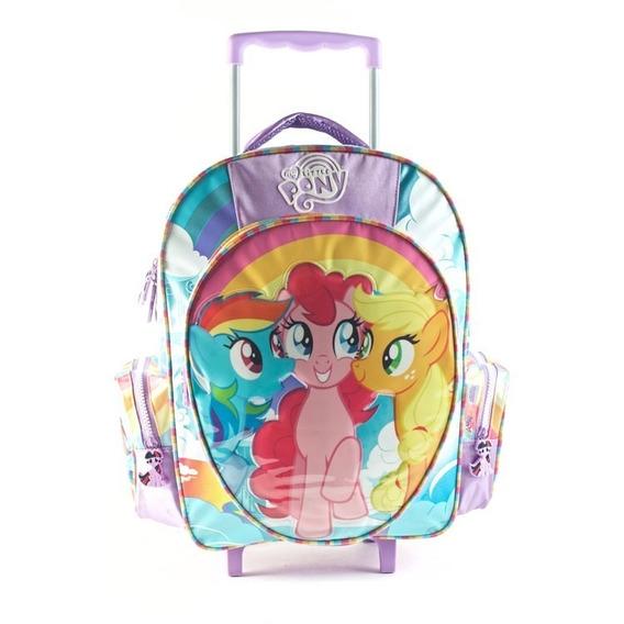 Mochila My Litlle Pony Con Carro 12 Pulgadas ( 88606)