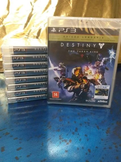 Destiny: The Taken King. Edição Lendária Para Ps3 Novo