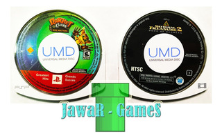 Ratchet Clank Size Matters + Natural Treasure 2 Psp