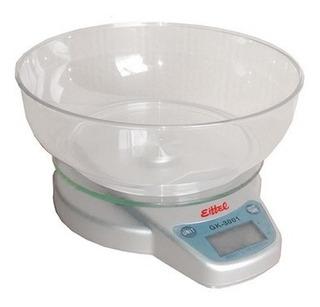 Balanza De Cocina - Función Tara - Hasta 3 Kg Graduación 1gr
