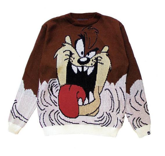 Demonio De Tasmania Sweater Taz Oficial Hombre Y Mujer This Is Feliz Navidad
