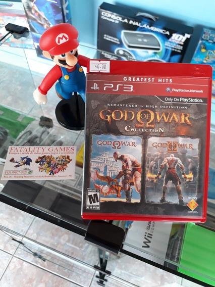 God Of War Collection Para Playstation 3 (semi Novo)