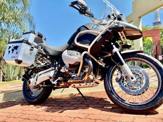 Bmw R 1200 Gs Adventure 2009 Cinza Revisada