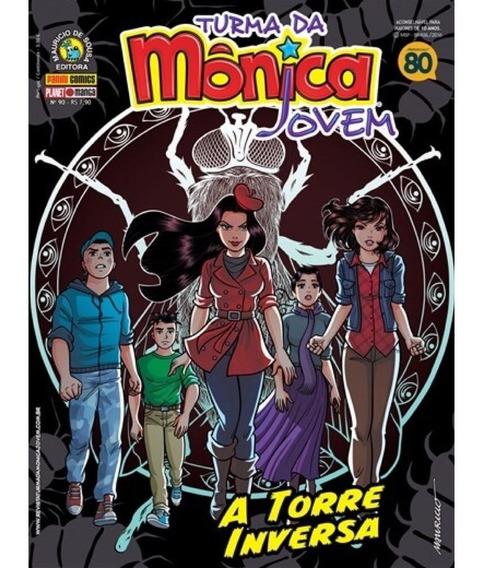 Hq Turma Da Mônica Jovem - A Torre Inversa N° 90