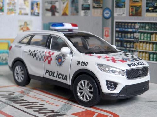 Miniatura Kia Sorento Polícia Militar Pm Sp - Atual
