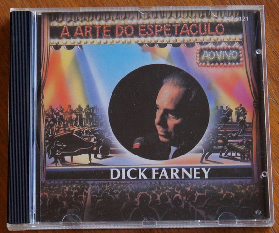 Cd Dick Farney- A Arte Do Espetáculo
