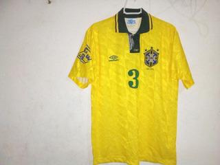 Camisa Seleção Brasileira Umbro Peça Rara Ano 1993