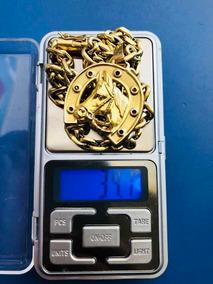 Corrente Com Pingente Ouro 18k 750 Legítimo