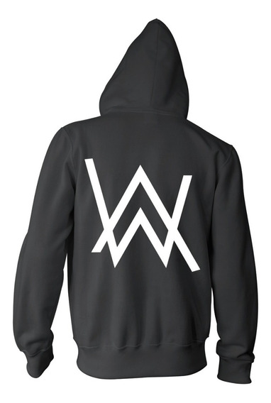 Combo Alan Walker Campera + Remera + Gorra - Color Animal
