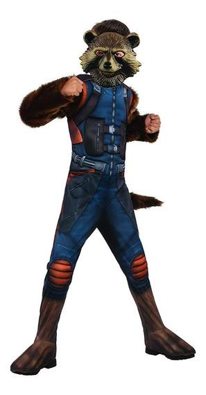 Disfraz Importado Para Niño De Avengers Rocket Raccoon