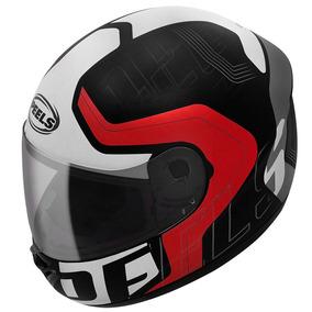 Capacete Peels Spike Ghost Motocicli Vermelho Masculino Moto