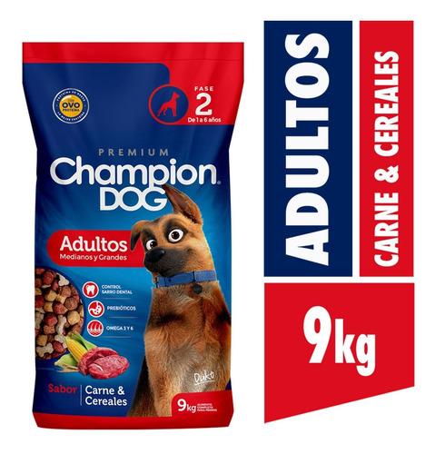 Champion Dog Adulto C&c 9 Kg