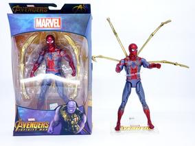 Homem Aranha De Ferro Articulado Vingadores Envio Imediato