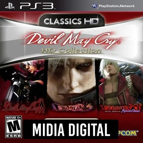 Devil May Cry Hd Collection 1 2 E 3 - Psn Ps3