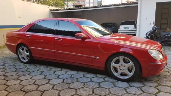 Mercedes Classe S 6.0 V12 Blindado