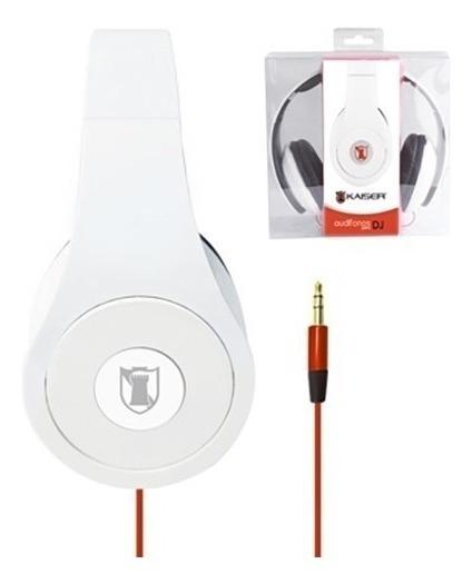 Audifonos Circumaural St 3.5 Diadema T-beats Blanco Mitzu