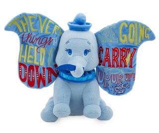Disney Store Wisdom Dumbo Peluche Nuevo!