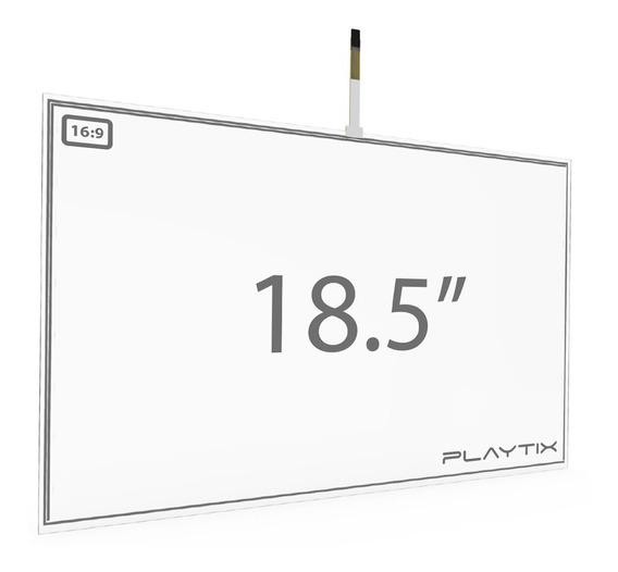Kit Sistema Touch Screen Resistivo 18.5 Usb 4 Vias Playtix