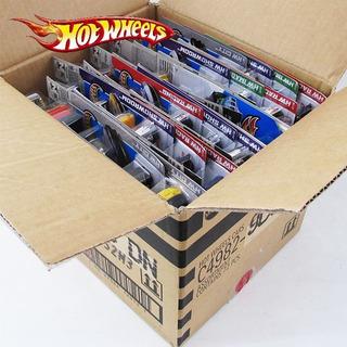 Caixa Hot Wheels C/ 72 Carrinhos Sortidos