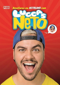 Kit As Aventuras Na Netoland Com Luccas Neto + Felipe Netto