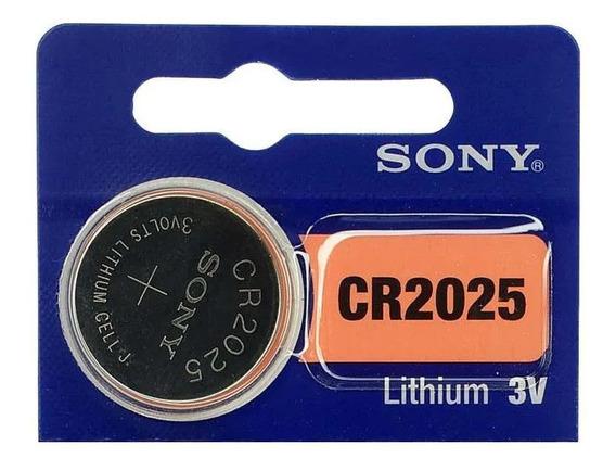 Kit C/5 Pilhas Cr2025