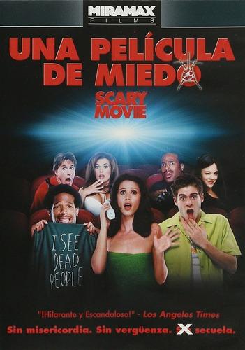 Scary Movie Una Pelicula De Miedo Anna Faris Pelicula Dvd
