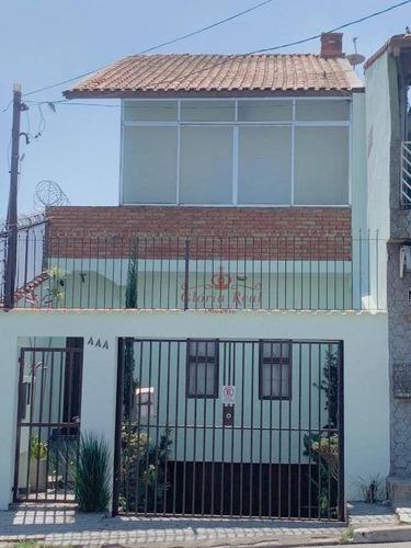 Sobrado Com 3 Dormitórios À Venda, 300 M² Por R$ 650.000,00 - Jaraguá - São Paulo/sp - So0205