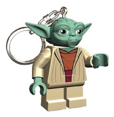 Llavero Con Luz Yoda Star Wars