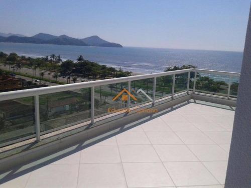 Imagem 1 de 17 de Cobertura Com 4 Dormitórios À Venda, 230 M² Por R$ 1.050.000,00 - Indaiá - Caraguatatuba/sp - Co0012