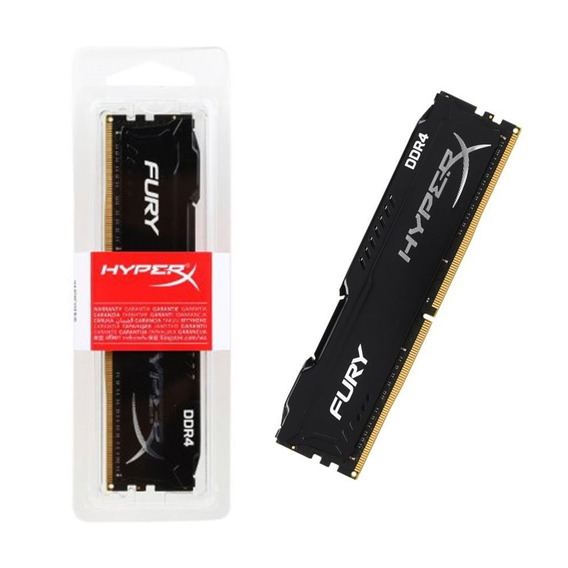 Memória Kingston Hyperx Gamer 8gb Ddr4 2666mhz Fury Desktop