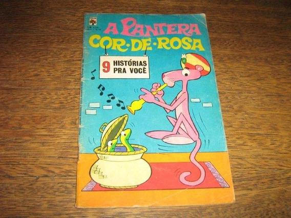 Pantera Cor De Rosa Nº 4 Setembro 1974 Editora Abril Origin