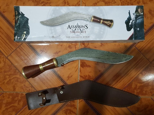 Kukri De Assassins Creed Original Funcional Afilado Y Funda