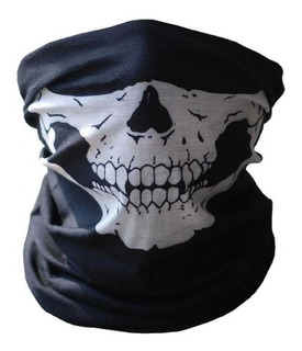 Pasamontañas Hombre Cráneo Esqueleto Cubrecara Motocicleta