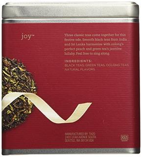 Tazo Joy Black Green Y Oolong Full Leaf Tea