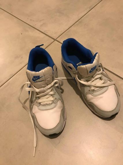 Zapatillas Importadas Nike Air Unisex Impecables!! Talle 3 Y