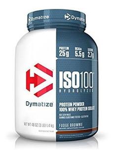 Iso100 3lb Dymatize Pura Proteína Isolada 0 Lactosa N1 Eeuu