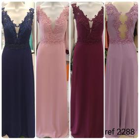 eb5349093 Lojas 44 Goiania Vestido De Festa - Vestidos Longos Femininas Azul ...