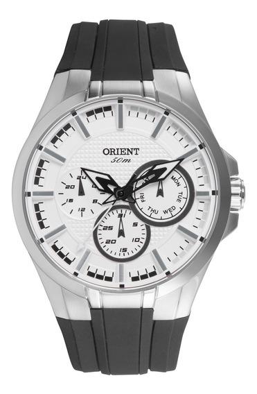 Relógio Orient Masculino Multifunção Mbspm014 S1px Preto Aço