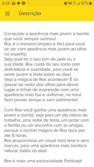 Rox Para Rugas