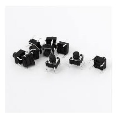 Chave Tactil 6x6x7 4 Term 200pç