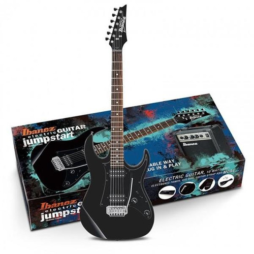Combo Guitarra Electrica Ibanez Profesional Ijrx20 Negr/roj