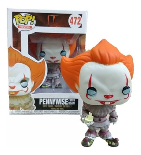 Funko Pop Movies It Pennywise (with Boat) #472 Figura Simil