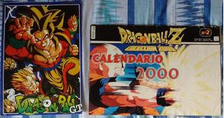 Calendario 2000 Posters Funko Goku Dragon Ball Z Vegeta
