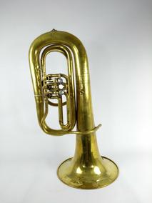Tuba C.zinzi Roma - 3 Rotores Em Mib ( Seminova)